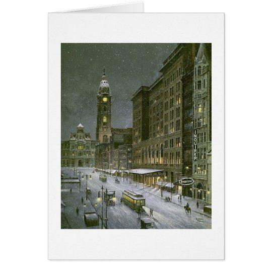"""Paul McGehee """"Old Philadelphia"""" Card"""