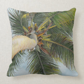 "Paul McGehee ""Palm Tree"" Pillow"