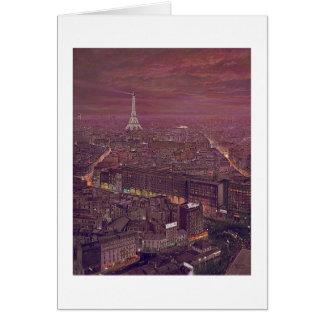 """Paul McGehee """"Paris"""" Card"""