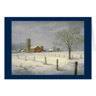 """Paul McGehee """"Silent Snowfall"""" Christmas Card"""
