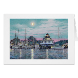 "Paul McGehee ""St. Michaels by Moonlight"" Card"