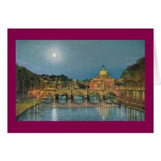 "Paul McGehee ""St Peter's Moonlight"" Christmas Card"
