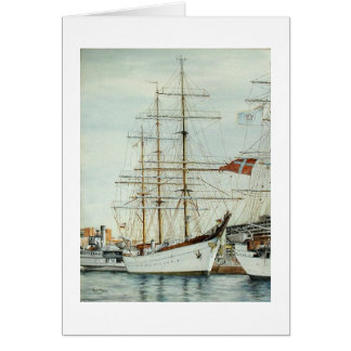 "Paul McGehee Tall Ship ""Gorch Fock"" Card"