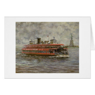 "Paul McGehee ""The Staten Island Ferry"" Card"