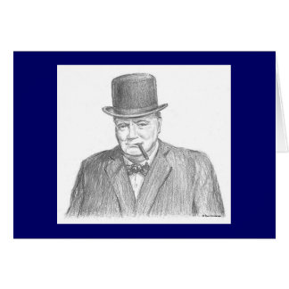 "Paul McGehee ""Winston Churchill"" Card"