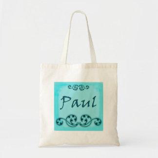 Paul Ornamental Magnet Tote Bags