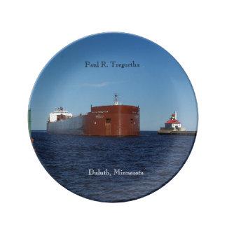 Paul R. Tregurtha Duluth decorative plate