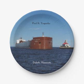 Paul R. Tregurtha Duluth paper plate