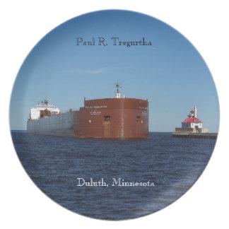 Paul R. Tregurtha Duluth plate