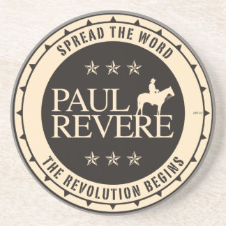 Paul Revere Drink Coaster