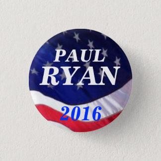 Paul Ryan 2016 3 Cm Round Badge