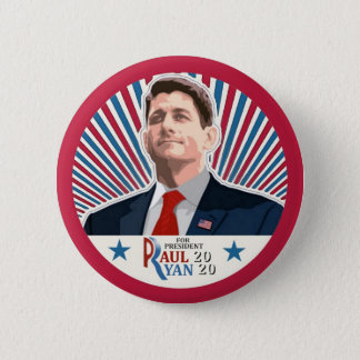 Paul Ryan 2020 6 Cm Round Badge