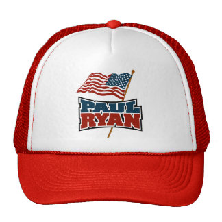 Paul Ryan American Flag Hats