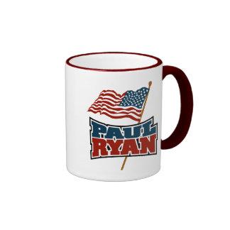 Paul Ryan American Flag Mugs