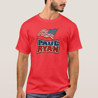 Paul Ryan American Flag T-Shirt