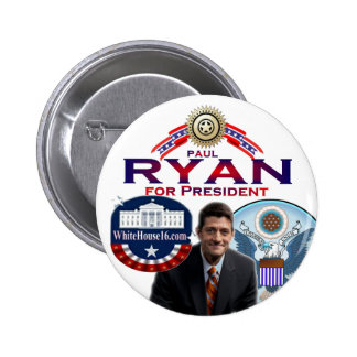 Paul Ryan for President Button
