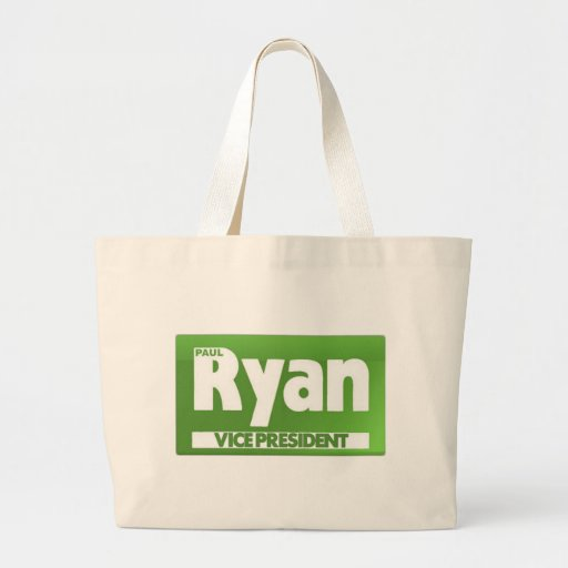 Paul Ryan for Vice President Canvas Bags