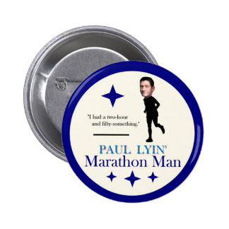 Paul Ryan Marathon Man 6 Cm Round Badge