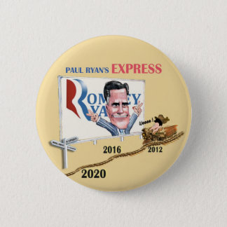 Paul Ryan's Express 6 Cm Round Badge