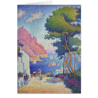Paul Signac- Capo di Noli Card