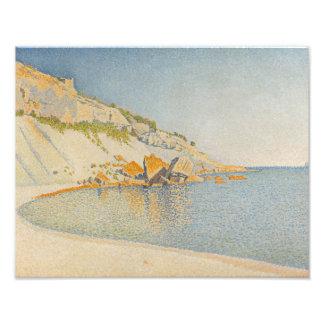 Paul Signac - Cassis, Cap Lombard, Opus 196 Photographic Print