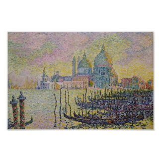 Paul Signac- Grand Canal (Venise) Poster