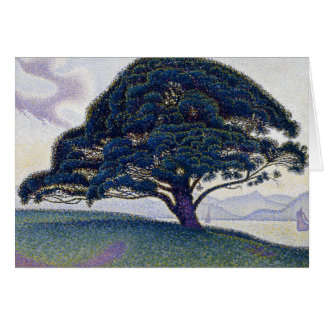 Paul Signac - The Bonaventure Pine Card