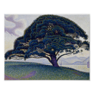 Paul Signac - The Bonaventure Pine Poster