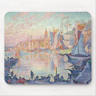 Paul Signac - The Port of Saint-Tropez Mouse Pad