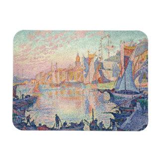 Paul Signac - The Port of Saint-Tropez Rectangular Photo Magnet