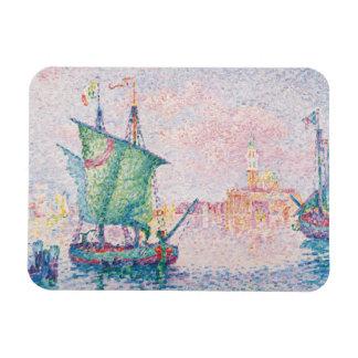 Paul Signac - Venice, The Pink Cloud Rectangular Photo Magnet