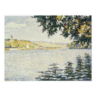 Paul Signac - View of the Seine at Herblay Photo