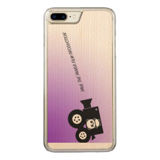 Paul the Panda Film Company Carved iPhone 8 Plus/7 Plus Case
