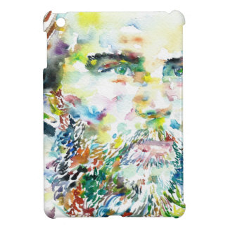 PAUL VERLAINE - watercolor portrait Case For The iPad Mini