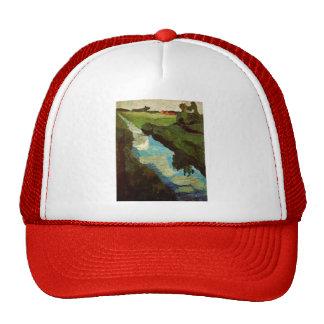 Paula Modersohn-Becker- Peat digging Hat