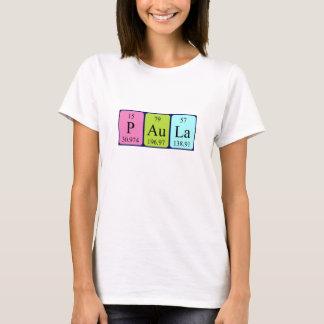 Paula periodic table name shirt