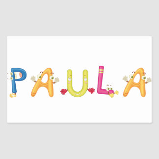 Paula Sticker