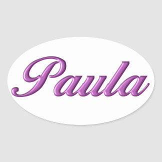 Paula sticker name