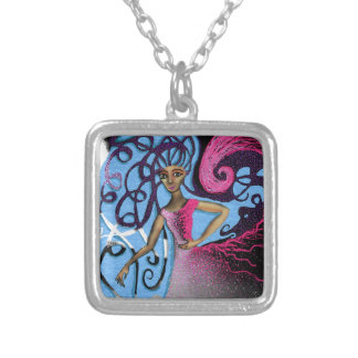 Paula's Cosmic Birthday Party Silver Plated Necklace
