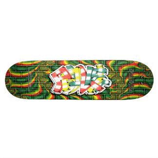PAULIE Tag 03 Custom Graffiti Art Pro Skateboard