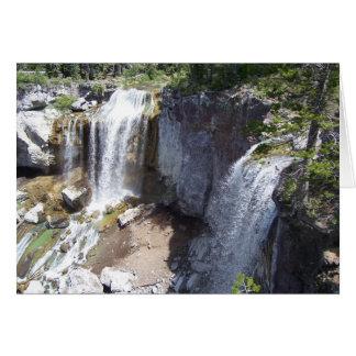 Paulina Creek Falls Card