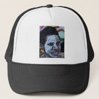 pauline trucker hat