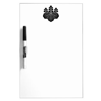 Paulownia with 5&7 blooms dry erase board