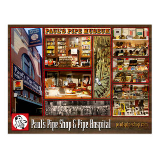 Paul's Pipe Museum Postcard