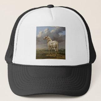 "Paulus Potter - The ""Piebald"" Horse. Vintage Image Trucker Hat"