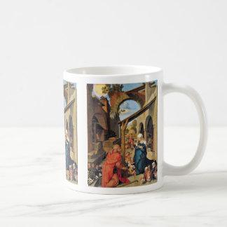 Paumgartner Altar Medium Image Birth Of Christ Mugs