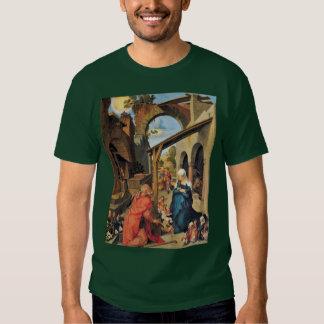 Paumgartner Altar: Medium Image: Birth Of Christ T-shirt