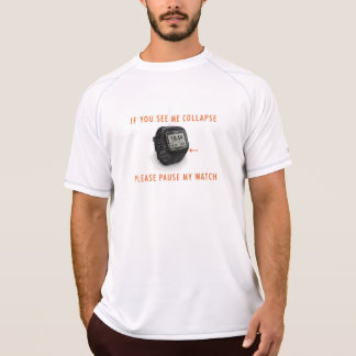 Pause My Watch 910 Double Dry Mesh T-Shirt