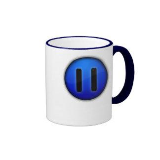 pause, Pause LifeTo let life drag you down, but... Ringer Mug