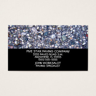 Paved Road Business Card